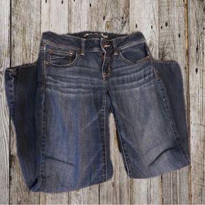 American Eagle skinny kick boot jeans